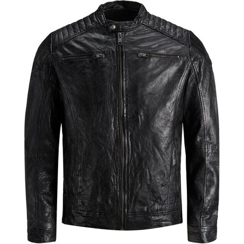 Minimaliste Veste En Cuir Men black - jack & jones - modalova