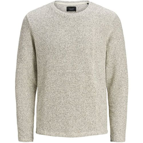 Contrasting Band Sweatshirt Men White - jack & jones - Shopsquare