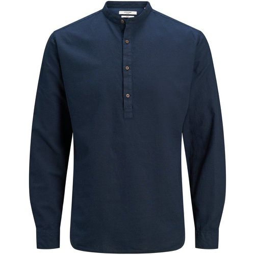 Tunique Col Mao Chemise Men blue - jack & jones - Modalova