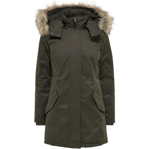Avec Finitions Parka Women Green - ONLY - Shopsquare