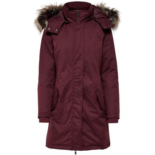 Avec Finitions Parka Women Purple - ONLY - modalova