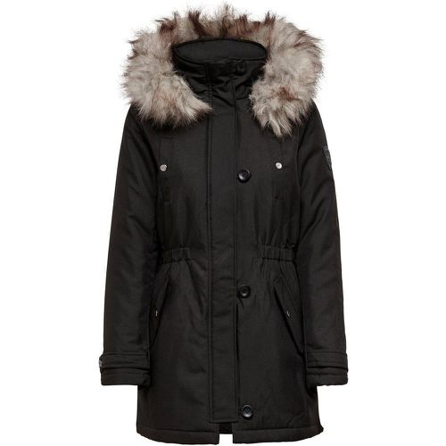 ONLY Couleur Unie Parka Women Black - ONLY - modalova