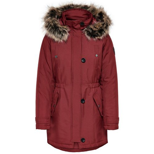 Couleur Unie Parka Women Brown; Red - ONLY - modalova