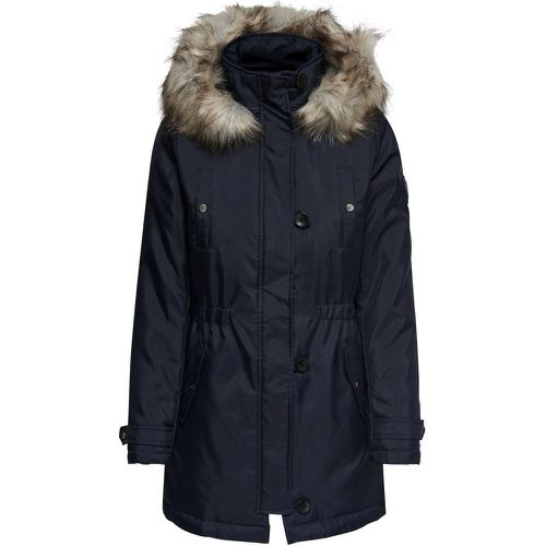 ONLY Couleur Unie Parka Women Blue - ONLY - modalova
