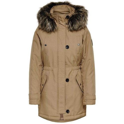 ONLY Couleur Unie Parka Women Brown - ONLY - modalova