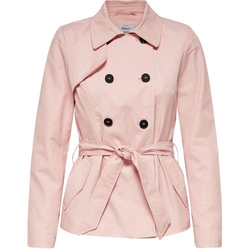 ONLY Court Trench Women Pink - ONLY - Shopsquare