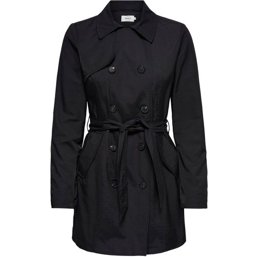 ONLY Classique Trench Women Black - ONLY - Shopsquare
