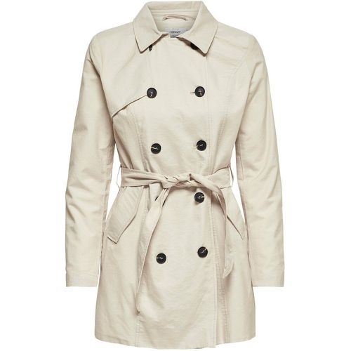 ONLY Classique Trench Women Beige - ONLY - Shopsquare