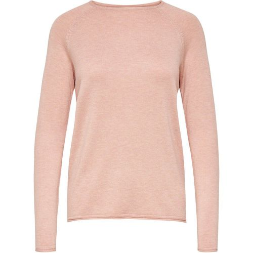 Couleur Unie Pull En Maille Women Pink - ONLY - Shopsquare