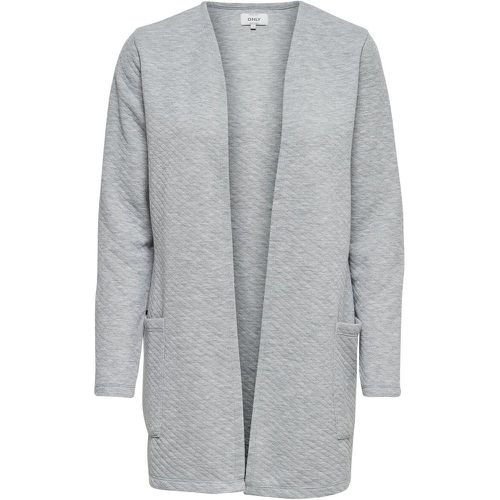 Couleur Unie Cardigan Women Grey - ONLY - Shopsquare