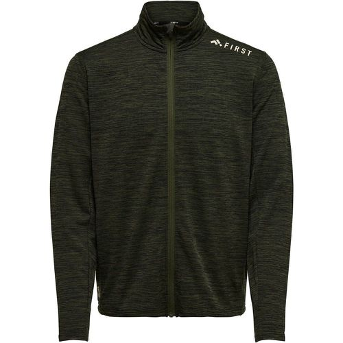 ONLY Brossé Sweat-shirt Men Green - ONLY - Shopsquare