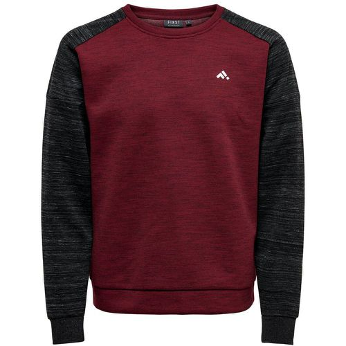ONLY Contraste Sweat-shirt Men Red - ONLY - Shopsquare