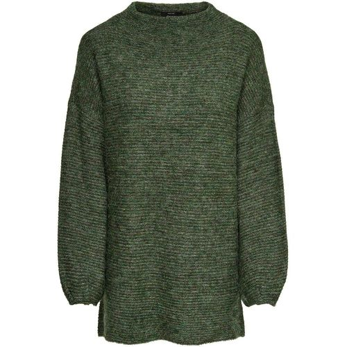 Long Pull En Maille Women Green - ONLY - Shopsquare