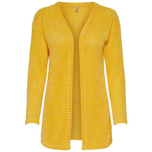 Texture Cardigan En Maille Women Yellow - ONLY - Shopsquare
