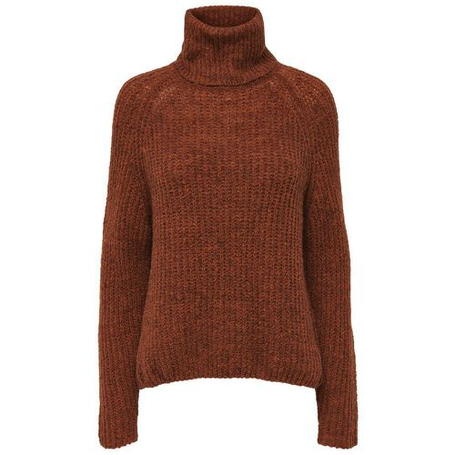 Laine Pull En Maille Women Brown - ONLY - Shopsquare