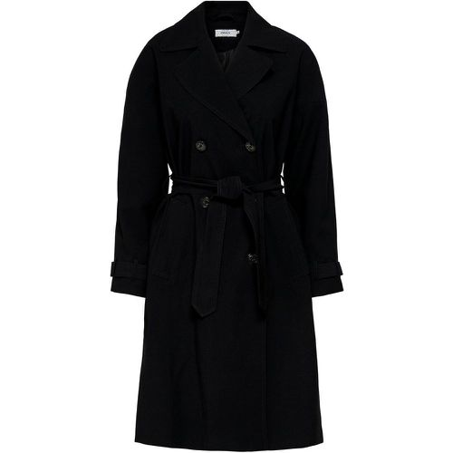 ONLY Long Trench Women Black - ONLY - Shopsquare