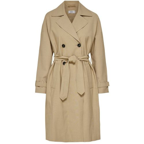 ONLY Long Trench Women Beige - ONLY - Shopsquare