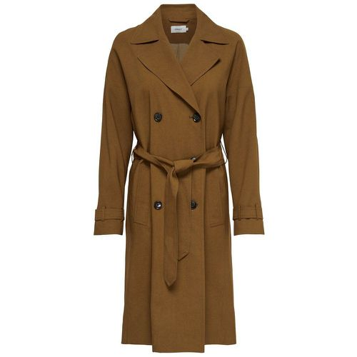 ONLY Long Trench Women Brown - ONLY - Shopsquare