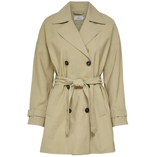 ONLY Court Trench Women Beige - ONLY - Shopsquare