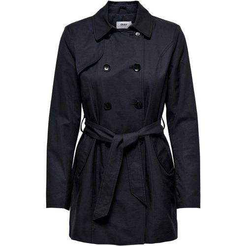 ONLY De Saison Trench Women Blue - ONLY - Shopsquare