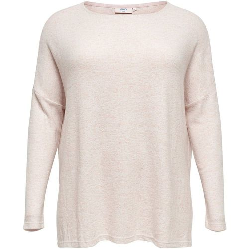 Voluptueux Ample Pull En Maille Women Pink - ONLY - Shopsquare