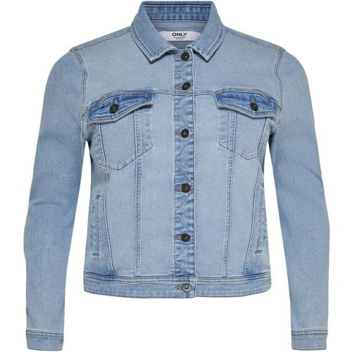 Courte Voluptueuse Veste En Jean Women Blue - ONLY - Shopsquare