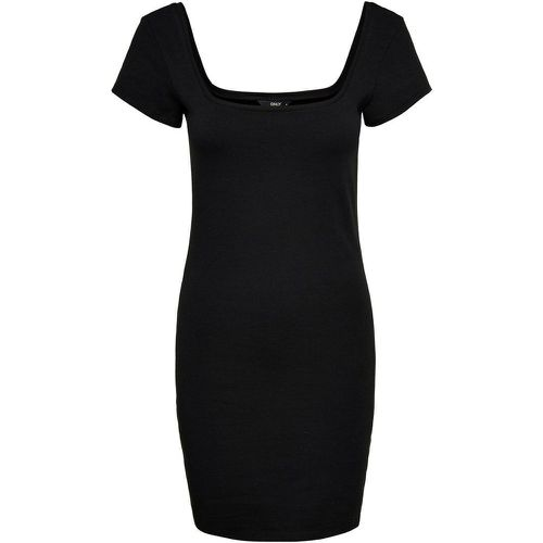ONLY Rib Short Dress Women Black - ONLY - Shopsquare