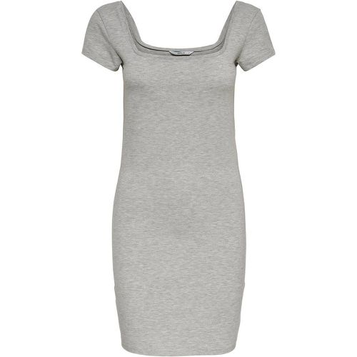 ONLY Rib Short Dress Women Grey - ONLY - Shopsquare
