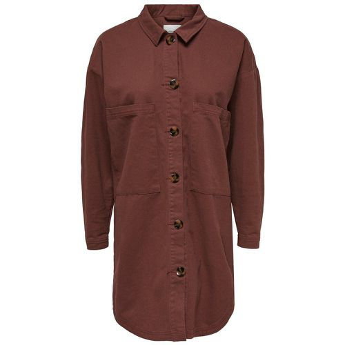 Ample Chemise À Manches Longues Women Brown - ONLY - Shopsquare