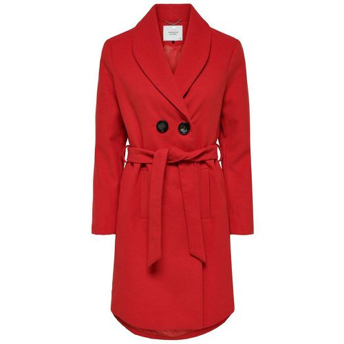 ONLY Ceinture Trench Women Red - ONLY - Shopsquare