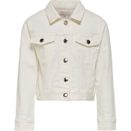 Courte Veste En Jean Women White - ONLY - Shopsquare