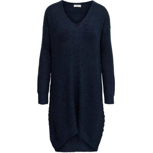 Ample Robe En Maille Women Blue - ONLY - modalova