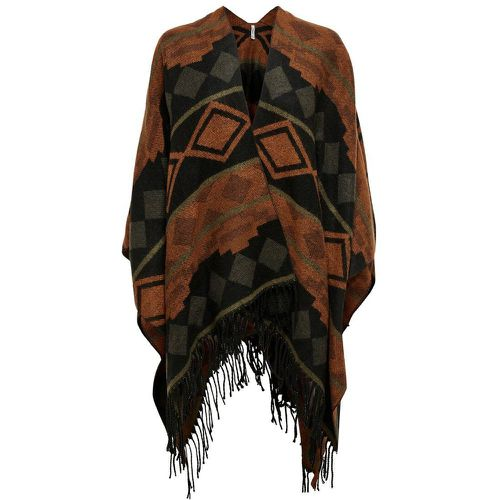 ONLY Jacquard Poncho Women Black - ONLY - Shopsquare