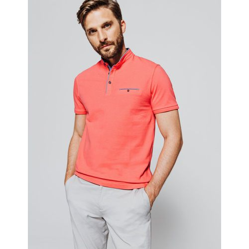 Polo manche courte col mao - Brice - Shopsquare