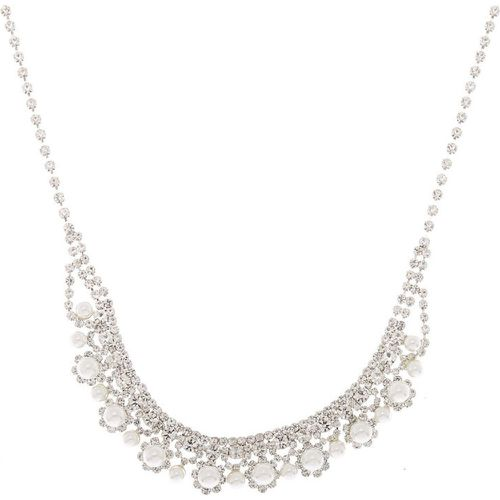 Collier plastron volumineux avec ornement royal - Claire's - Modalova