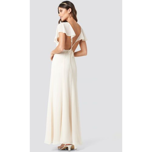 Back Detail Maxi Dress - White - NA-KD Party - modalova