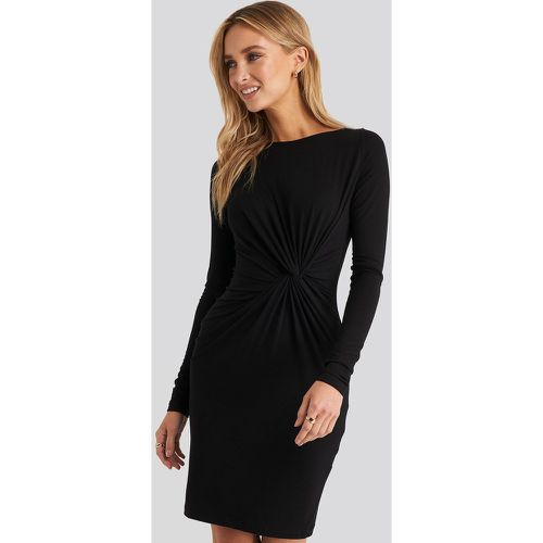 NA-KD Knot Detail Dress - Black - NA-KD - modalova