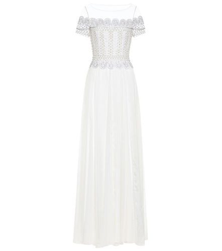 Robe de mariée Sophia en soie à ornements - Temperley London - Modalova