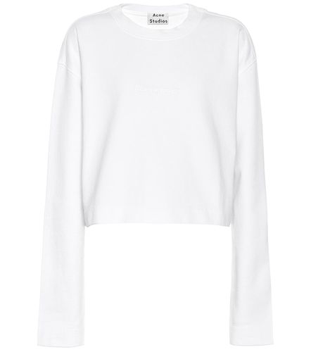 Sweat-shirt embossé en coton - Acne Studios - Shopsquare