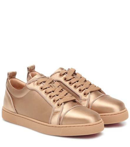 Baskets Louis Junior en satin de soie - Christian Louboutin - Modalova