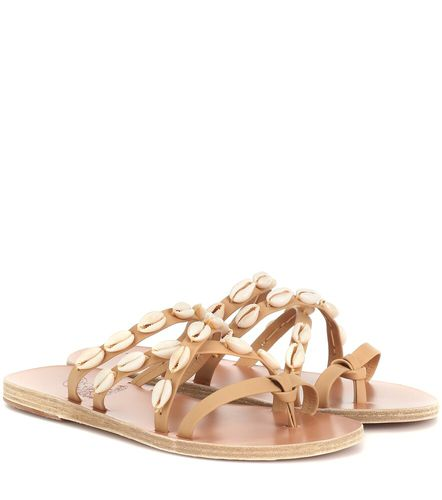 Exclusivité Mytheresa – Mules Hydra en cuir à ornements - Ancient Greek Sandals - modalova