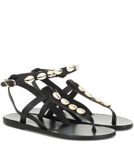 Exclusivité Mytheresa – Sandales Estia en cuir à ornements - Ancient Greek Sandals - modalova