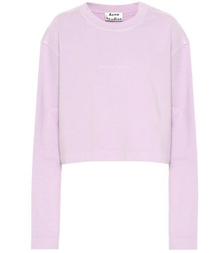 Sweat-shirt en coton - Acne Studios - Shopsquare