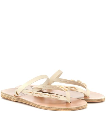 Exclusivité Mytheresa – Mules Mirsini en cuir à ornements - Ancient Greek Sandals - modalova