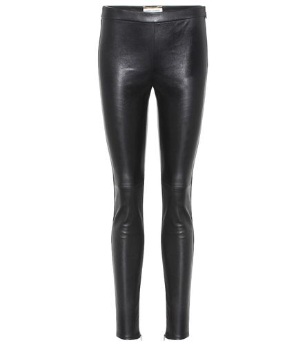 Legging en cuir - Saint Laurent - Shopsquare