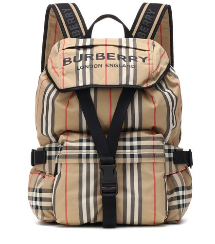 Sac à dos Icon Stripe à carreaux - Burberry - modalova