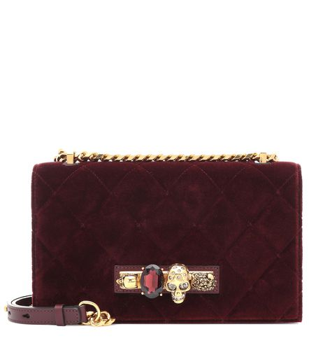 Sac à bandoulière Jewelled Medium en velours - Alexander McQueen - Shopsquare