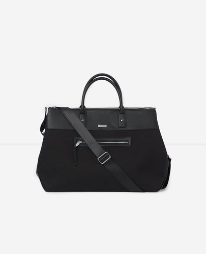 Sac week-end noir anse poche avant - The Kooples - Modalova