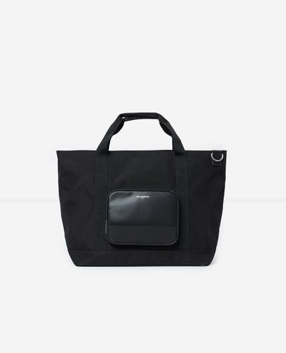 Sac week-end noir poche similicuir - The Kooples - Modalova